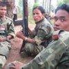Des soldats de l'armée maoïste au Népal.