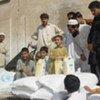 Le PAM fournit de l'aide humanitaire aux déplacés au Pakistan.