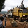 Commercial activity in the Central African Republic capital, Bangui.