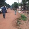 The Paoua market area in the Central African Republic
