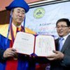 Secretary-General Ban Ki-moon receives Honorary Doctorate from the Mongolian National University
