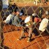 Des migrants du Zimbabwe dans un refuge temporaire en Afrique du Sud (photo d'archives).