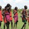 People from the Maasai community in Kenya.