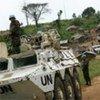 Des Casques bleus en République démocratique du Congo.
