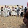 Population déplacée à Sa'ada (Yémen)
