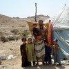 Desplazados<br>en Yemen