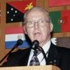 Norman Borlaug at the 2002 World Food Summit in Rome