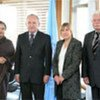 Les quatre membres de la Mission d'établissement des faits sur le conflit à Gaza.