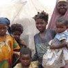 Une famille de déplacés somaliens.