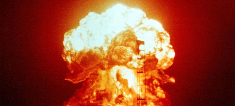 Un test nucléaire.