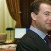 Le président de la Russie Dimitri Medvedev.