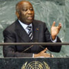 Laurent Gbagbo, President of Côte d'Ivoire