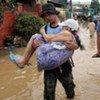 菲律宾受灾民众