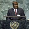 Foreign Minister Moussa Faki Mahamat of Chad