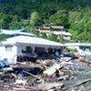 Destructions causées par le tsunami aux Samoa américaines.