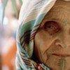 Une femme âgée (Maroc)