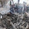 Dégâts causés par l'explosion d'une bombe près de l'ambassade d'Inde à Kaboul, lors d'un précédent attentat.