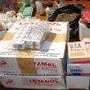Counterfeit drugs sold at a street market in Ouagadougou, Burkina Faso