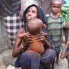 Une famille confrontée à l'insécurité alimentaire en Ethiopie.
