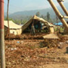 Cantonment in Surkhet, Nepal, provides temporary shelter for People's Liberation Army (Maoist combatants)
