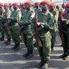 Des soldats des forces armées congolaises.