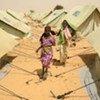De jeunes réfugiés dans un camp de l'est du Tchad
