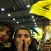 A Hizbollah rally for the 7 June 2009 election in Lebanon (file)