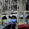 伊拉克司法部大楼被炸现场