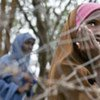 Niña somalí refugiada<br>en Kenya