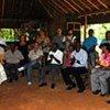 La Haut commissaire des Nations Unies aux droits de l'homme, Navi Pillay, dans une communauté afro-brésilienne.