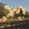 Une rue dans le quartier de Gilo, à Jérusalem.