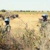 UNAMID peacekeepers patrol in North Darfur