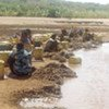 Le choléra est causé par de l'eau contaminée.