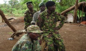 LRA fighters