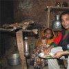 Le cuisinier de renom britannique Tommy Miah dans un camp de réfugiés.