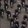 Des patrouilles de police iraniennes à Téhéran.