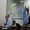 SRSG Ad Melkert working out of his Baghdad-based office