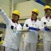 Des inspecteurs dans une installation nucléaire.