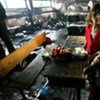 Children in an UNRWA school in Beit Lahiya, Gaza, which suffered a direct hit from IDF fire on 17 January 2009 (file)