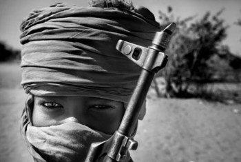 5.933 niños y 230 niñas fueron reclutados en Somalia como soldados entre 2010 y 2016. Foto: ONU/Archivo