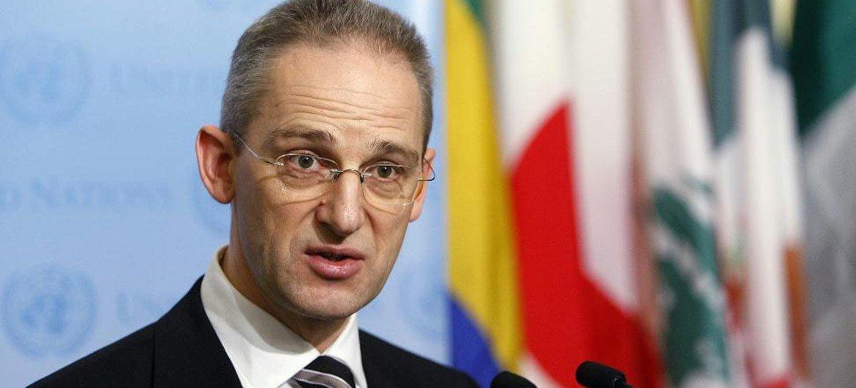UN Spokesperson Martin Nesirky.