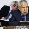 General Assembly President Ali Treki