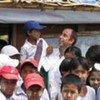 Ojea Quintana en Myanmar<br>Foto de archivo