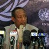 Special Representative for Sudan Haile Menkerios holds press conference in Khartoum (File Photo)
