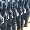 La police nationale du Timor Leste.