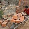 Niño trabajando en la construcción. Foto de achivo: OIT/Crozet M