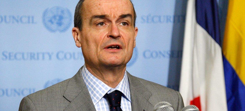 法国常驻联合国代表阿罗