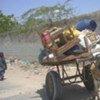 Desplazados en Mogadishu