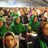 Women attending the June 2010 Peace Jirga in Kabul