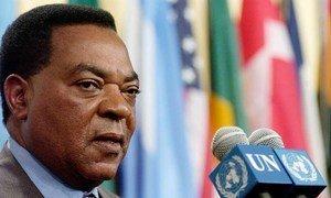 Ambassador Augustine Mahiga, Secretary-General Ban Ki-moon's Special Representative for Somalia